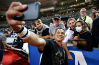 Cheslin Kolbe after winning the Top 14