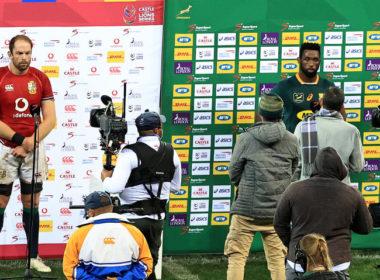 Springboks captain Siya Kolisi