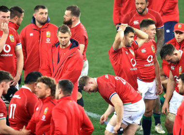 The Lions were left to taste defeat again in South Africa