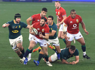 Lions players scored two tries in the three Tests against South Africa