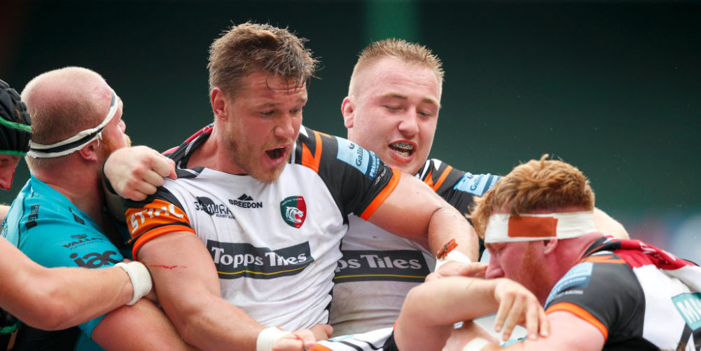 Leicester Tigers vice-captain Hanro Liebenberg