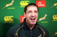 Springboks lock Bakkies Botha