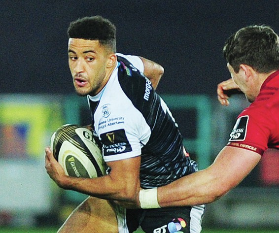 Injury-stricken Keelan Giles finally reaches 50 for Ospreys