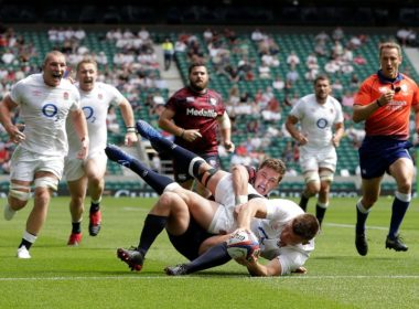 England hooker Jamie Blamire
